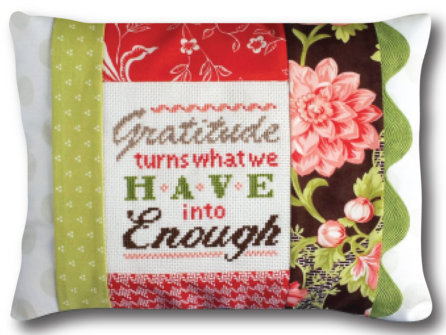 Gratitude is Enough pillow kit #1423