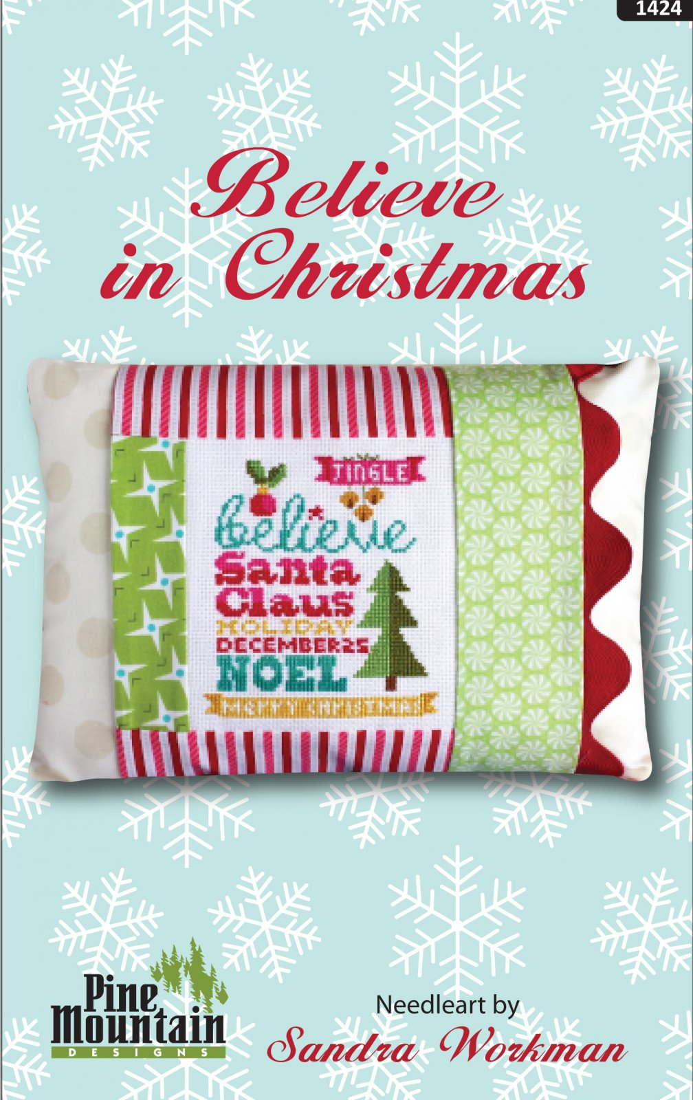 Believe in Christmas pillow kit #1424