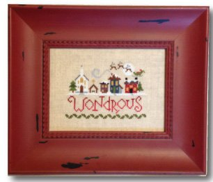 Wondrous cross stitch pattern (LK11)