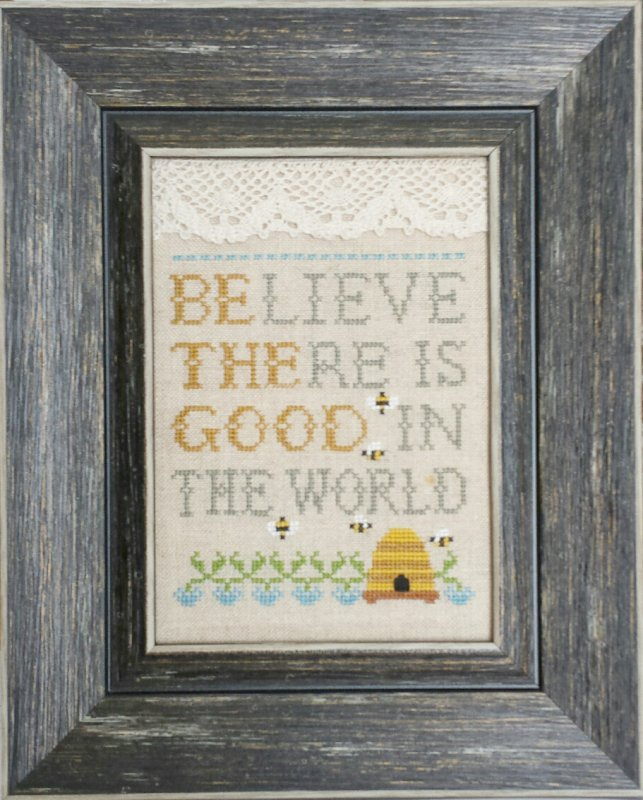 Believe there is Good  - Words of Wisdom LINEN KIT LK19