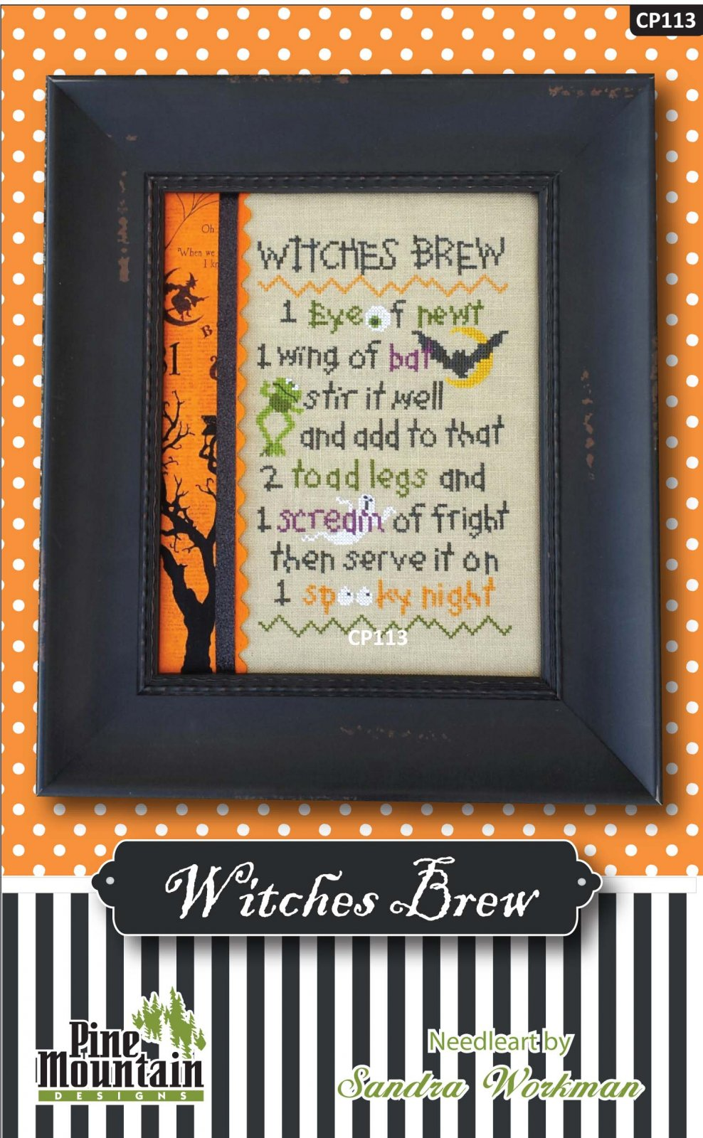 Witches Brew Cross Stitch Pattern cp113