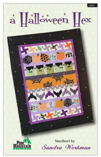 Q55 Halloween Hex quilt pattern