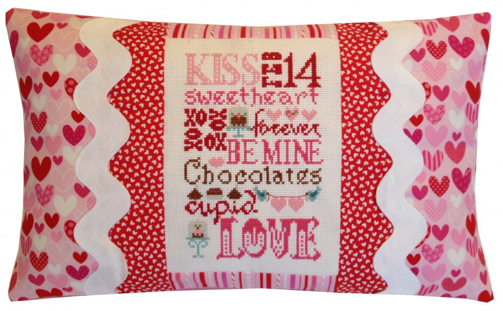 Valentine Typography Pillow Kit 472