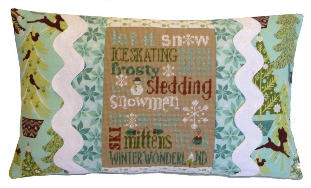 Winter Typography Pillow Kit 471