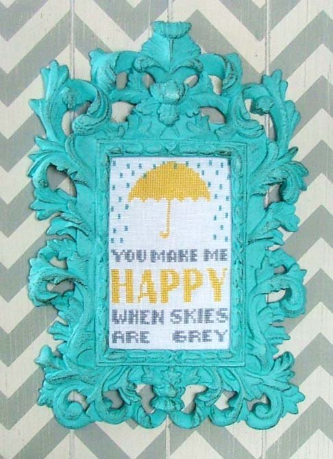 You Make me Happy - Words of Wisdom LINEN KIT LK15