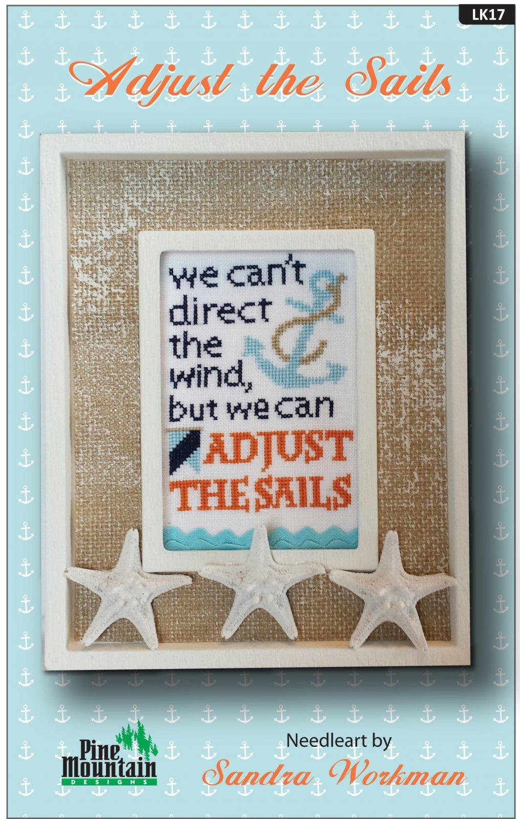 Adjust the Sails - Words of Wisdom Pattern