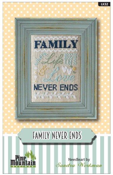 Family Never Ends - Words of Wisdom LINEN KIT LK32
