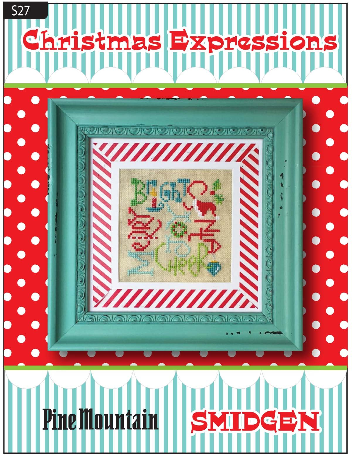 Christmas Expressions SMIDGEN pattern (s27)