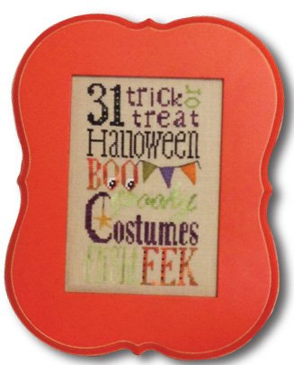 Spooky Typography linen kit LK07