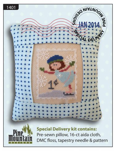January Stamp - Special Delivery kit (1401)