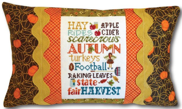 Autumn Typography Pillow Kit 475