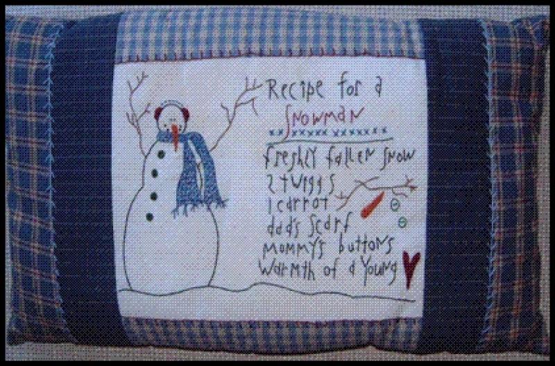 Recipe for a Snowman