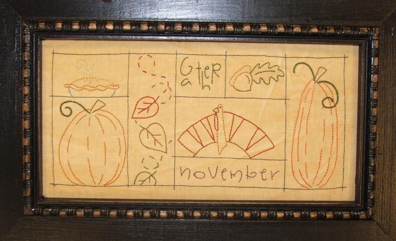 Signs of November