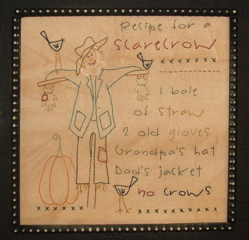 Recipe for a Scarecrow