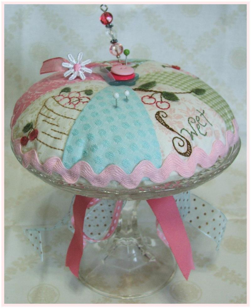 Cherry Pie Pin Cushion