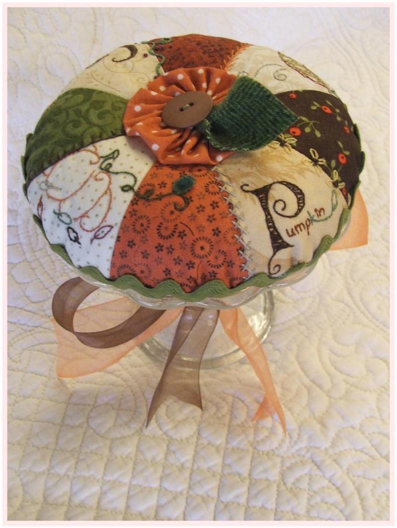 Pumpkin Pie Pin Cushion