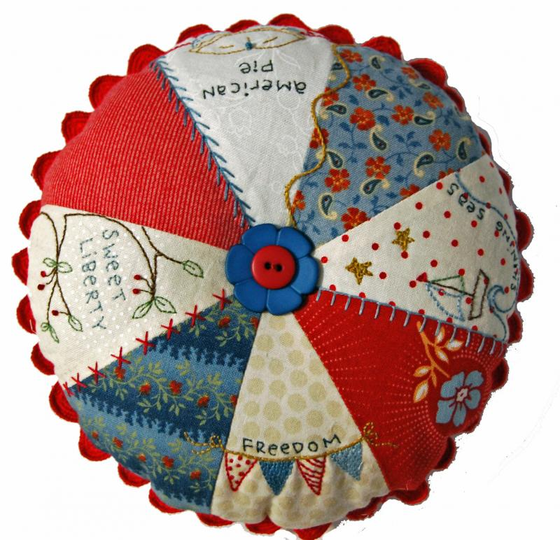 American Pie Pin Cushion