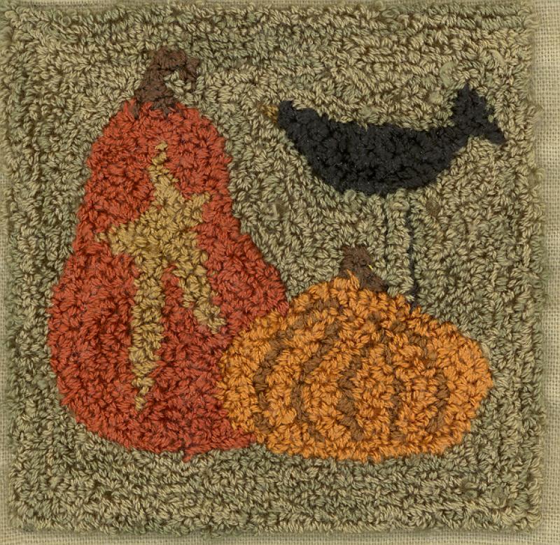 Crow & Pumpkins