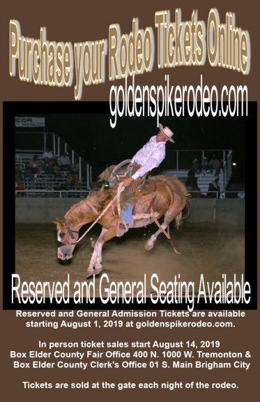Golden Spike Rodeo Tickets