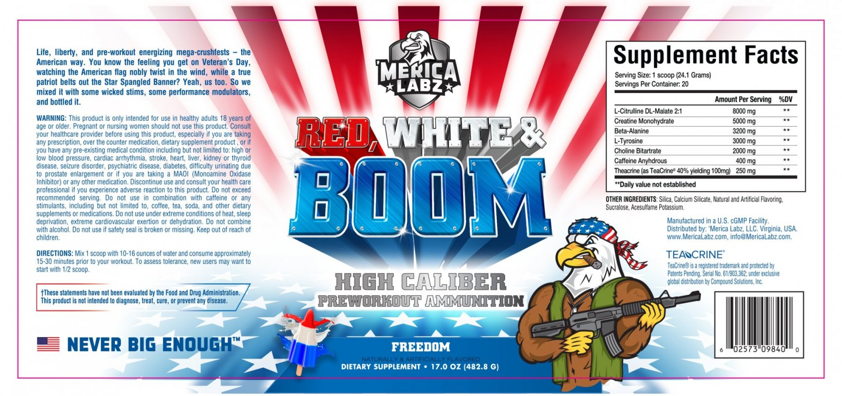 Red,White&Boom (20 Servings) - 602573098394 - photo#43