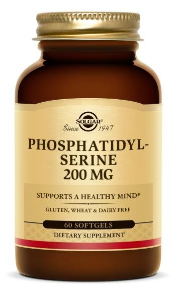 Phosphatidylserine 200 mg (60 Softgels)