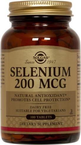 Selenium 200 mcg (100 Tablets )