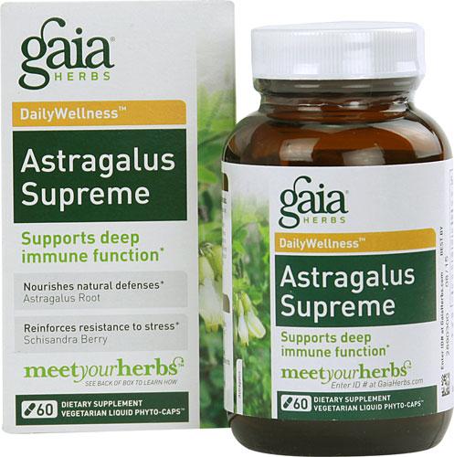 Astragalus Supreme (60 Vegi Liquid Phyto-Caps)