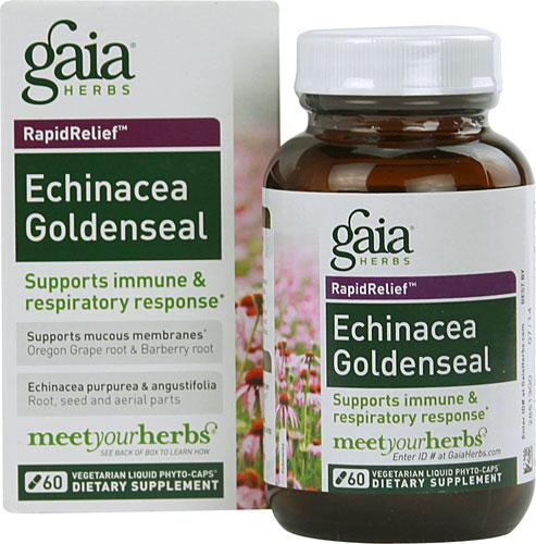 Echinacea Goldenseal  (60 Vegi Liquid Phyto-Caps)