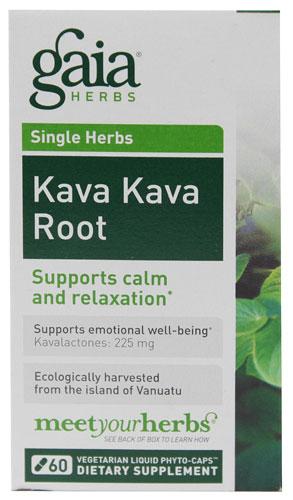 Kava Kava (60 Vegi Liquid Phyto-Caps)