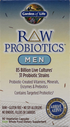 RAW Probiotics Men (90 Vegi-Caps)