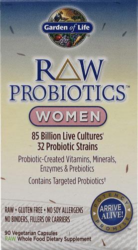 RAW Probiotics Women (90 Vegi-Caps)