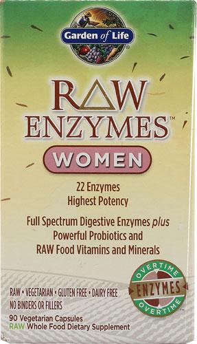 RAW Enzymes Women (90 Vegi-Caps)