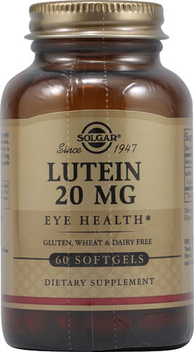 Lutein 20mg (60 Softgels)