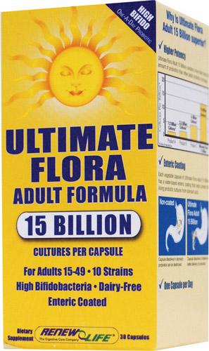Renew Life - Ultimate Flora Adult Formula 15 Billion (30 Caps)