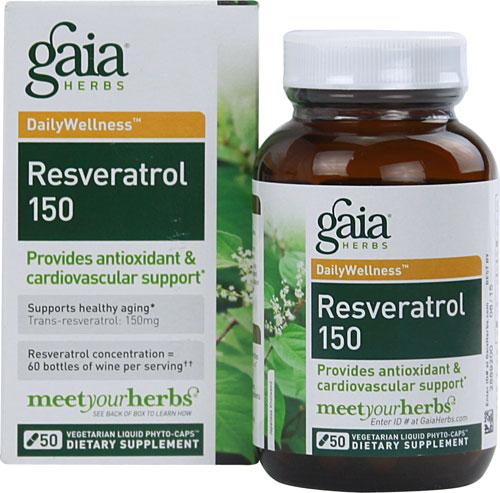 Resveratrol-150 (50 Vegi Liquid Phyto-Caps)
