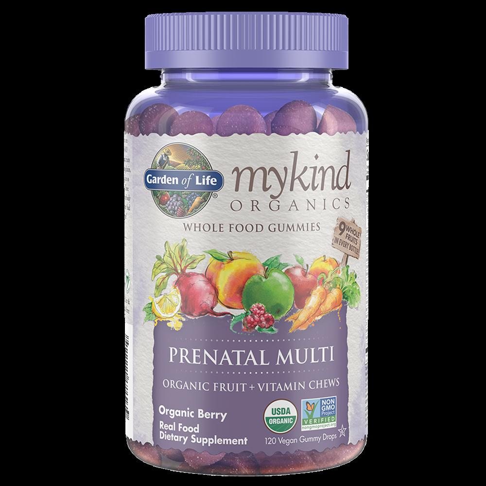mykind Organics Prenatal Multi (120 Vegan Gummy Drops)