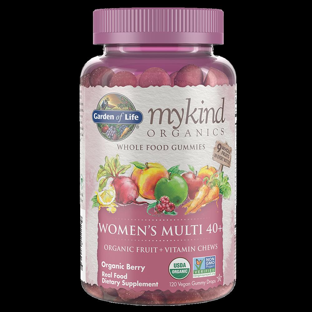 mykind Organics Womens 40+ Multi (120 Vegan Gummy Drops)