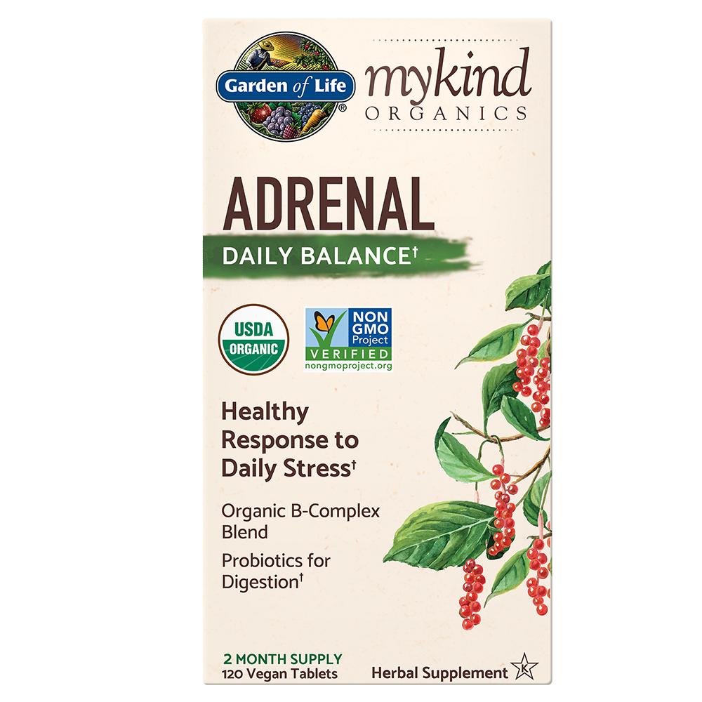 mykind Organics Adrenal Daily Balance (120 Vegan Tabs)