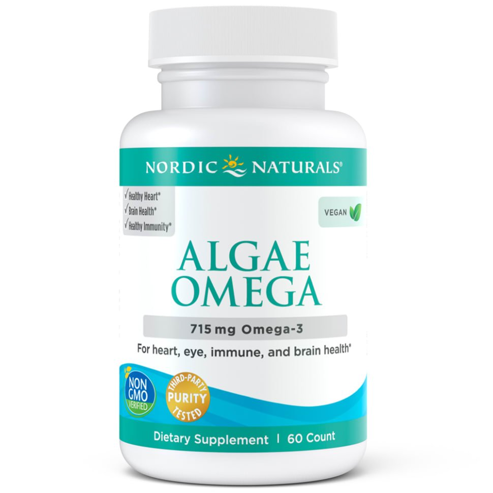 Nordic Naturals Arctic Cod Liver Oil Softgels Lemon Check It Out Algae Omega 60 Soft Gels 2795 2376