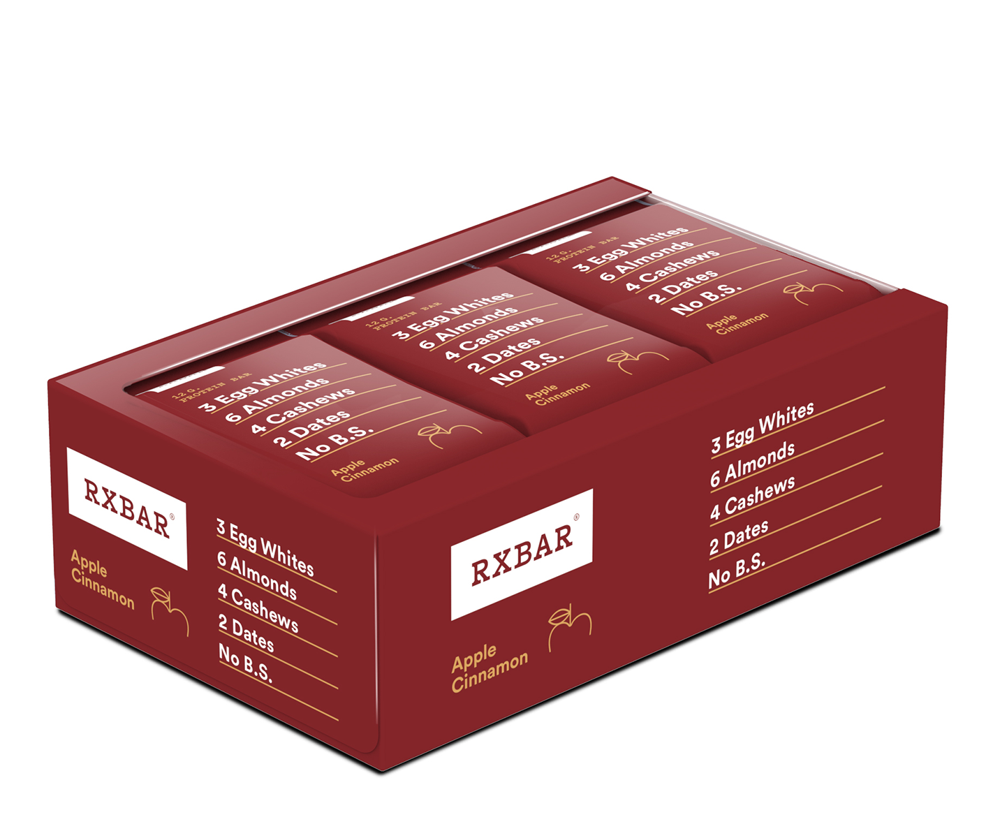 RxBar - Whole Food Protein Bar (Case of 12)