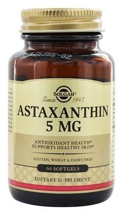 Astaxanthin 5 mg (60 Softgels)