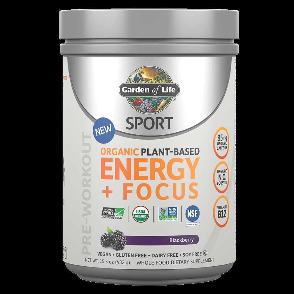 SPORT Organic Plant-Based Energy + Focus