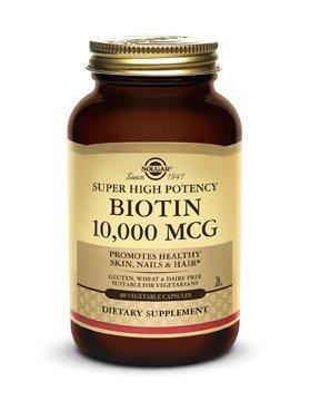 Biotin 10,000 mcg Vegetable Capsules