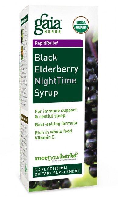 Black Elderberry NightTime Syrup (3 fl oz)