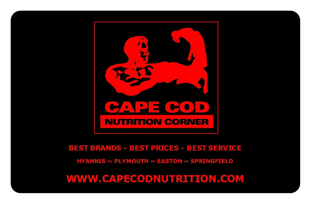 Cape Cod Nutrition Corner Gift Card