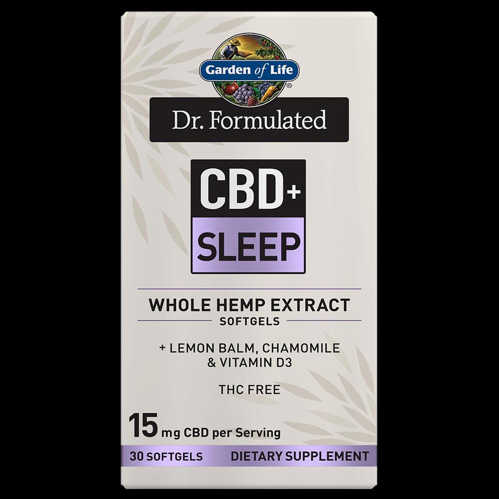 Dr. Formulated CBD+ Sleep 30 Softgels
