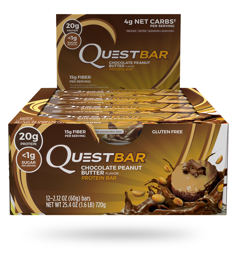 Quest Bar (Case of 12)
