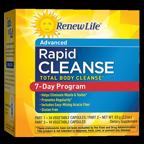 Rapid Cleanse 7-Day Program (3 Part Kit)