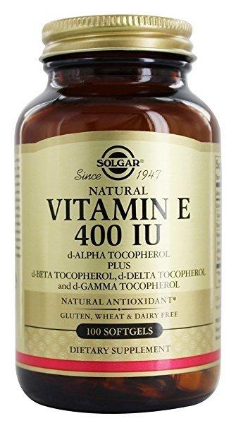 Vitamin E 400 IU (d-Alpha & Mixed Tocopherols) Softgels