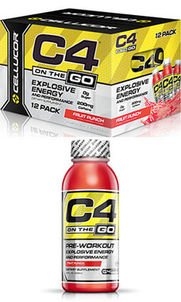 C4 On The Go (12 Pack)